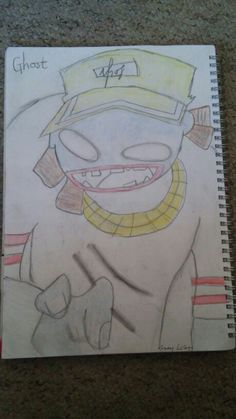Ghost from gorillaz