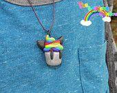 Cute Rainbow Kitty Cupcake