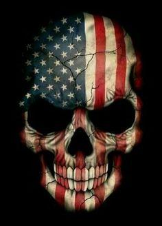Flag Skull