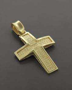 Σταυρός βάπτισης Χρυσός Κ14