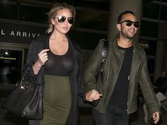 Star Tracks: Friday, January 1, 2016 | WE BACK | Chrissy Teigen and John Legend arrived back in Los Angeles.
