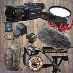 The Bearded Buck Starter Package - Canon HFG40