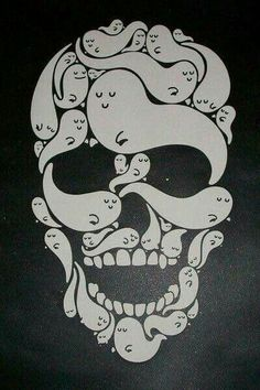 Skulls and Skeletons: Ghosts Skull.