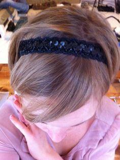 DIY-Challenge #31: Haarband schnell und einfach selbermachen #Anleitung #selbermachen #Geschenkidee