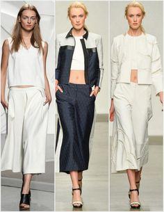 Sachin & Babi Spring 2014 Ready-to-Wear Collection - Vogue Runway Fashion, Fashion Show, Womens Fashion, Fashion Design, Plus Size Culottes, Plus Size Online Shopping, Modest Skirts, Spring 2014, Summer 2014