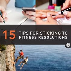 15 Foolproof Strategies to Stick to Your Fitness Resolutions #fitness #workout #motivation