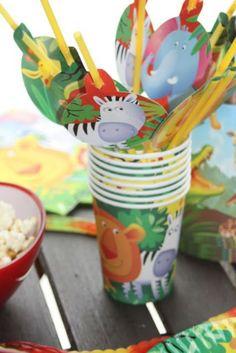Jungle Party, Motto Geburtstag Dschungel, Dschungelparty, Partydeko,