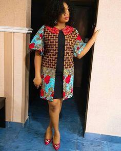 2019 Beautiful Ankara Jacket (Kimono) Styles from Diyanu - Ankara Dresses, Shirts & Short African Dresses, Latest African Fashion Dresses, African Print Dresses, African Print Fashion, Ankara Jackets, African Traditional Dresses, African Attire, Kimono Fashion, Suits