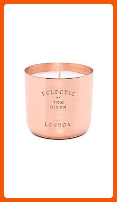 Tom Dixon Men's London Scented Candle, Copper, One Size - Improve your home (*Amazon Partner-Link)