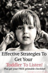 get your toddler to listen | tips for toddler listening skills | how to get a toddler to listen | strategies to get a toddler to listen #toddler #parenting