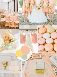 Pastel Wedding Color Ideas and Invitations 2014 Trends | #elegantweddinginvites