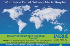 Now #Receive your Goods safe, Secure and on time with India's one of the best #Courier Company.