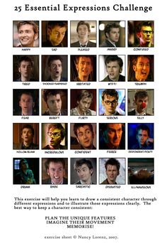 David Tennant really does have amazing facial expressions! It's kind of his best quality.