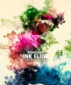 Gif Animated Ink Flow Photoshop Action - Photo Effects Actions animated effects,animation,animation ink,atn animation,effect animation,gif,gif animated,gif animation,ink,ink brushes,ink drop,Ink Flow,ink water,manipulation,paint,painting,photo effect,style,watercolor