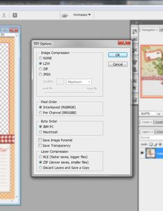 Meagans Creations: Saving Space: TIFF file formats