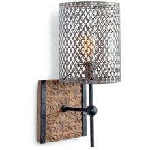 Mesh Shade Sconce