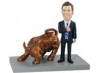 Bullish Investor Bobblehead for $141.90