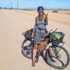 Learning to ride a bike is no big deal. Learning the best ways to keep your bike from breaking down can be just as simple. Touring Bicycles, Touring Bike, Bicycle Women, Bicycle Girl, Road Bikes, Cycling Bikes, Mtb, Surly Bike, Bicycle Maintenance