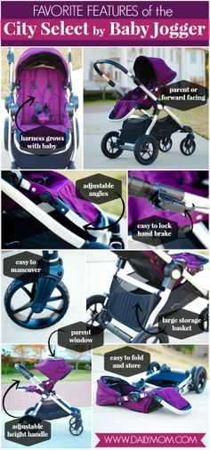 Daily Mom » Stroller Guide: City Select by Baby Jogger