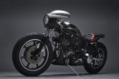 Harley-Davidson Cafe Racer by Jamesville Motorcycles #motorcycles #caferacer #motos | caferacerpasion.com