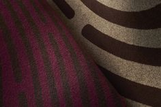 The Identity One collection by Milliken: Latent Code in Neutral and Latent Small in Purple. Explore more at space number 2813. #HDExpo15  #HDExpo #hospitalitydesign #modularcarpet #interiordesign #InteriorIdentities