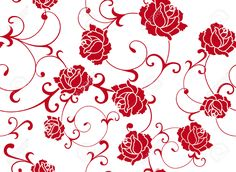 4953447-Seamless-Floral-Rose-pattern-Stock-Vector-vector.jpg (1300×949)