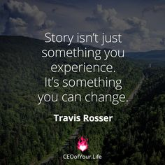 Think about what story you truly want to create for your life & biz. Create a vision of it and take steps towards it daily. It' is possible :-)