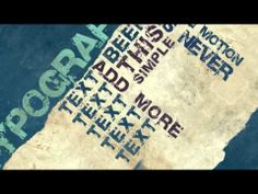 VideoHive - Typography Free After effects template (mediafire)