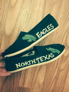 University of North Texas Toms. These are super cute