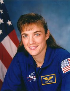 """Heidemarine Martha Stefanyshyn-Piper (02/07/1963) ,Minnesota , USA. Her father Mykhailo Stefanyshyn is Ukrainian .Martha is an American Naval officer and a former NASA astronaut. space shuttle missions STS-115 , STS-126, during which she completed 5 space walks totaling 33 hours and 42 min. She was raised in Ukrainian community, speaks Ukrainian, was a member of Plast scounting org., dancer of """" Zahrava"""" folk dance ensemble, member of the """"Troyandy""""girls vocal ensemble , from Iryna"""