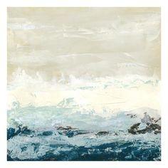 Coastal Currents I Art Print by Erica J. Vess at Art.com