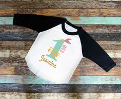"Wild ""1"" Birthday Bodysuit or Shirt - Personalized"