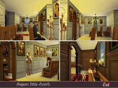 evi's Sims 4 Downloads Byzantine Icons, Sims Community, Electronic Art, City Living, 13 Year Olds, White Walls, Santorini, Sims 4, Improve Yourself