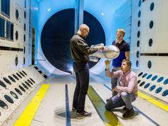Jan. 3, 2017 SLS Shocked During Wind Tunnel Testing to Better Understand Rocket's Transonic Behavior