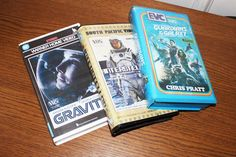 Sci-Fi movies. Gravity, Interstellar, Guardians of the Galaxy. Offtrackoutlet  physically recreates vintage VHS covers as well as dubs modern movies into a fully functional VHS tapes.