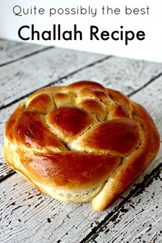 """The Best Challah Recipe"" Must try this recipe! That image makes me want to tear off a piece, grab a bottle of honey and go to town. I've never made Challah at home before; would be awesome to know how."
