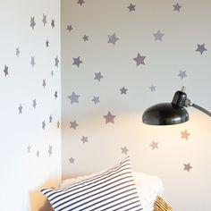 Petit Collage Stars Wall Decal
