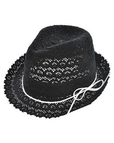 Black / 100% Cotton / Upf 50+ / Excellent Uv Protection / Blocks 98% Uva, Uvb / One Size / Hats