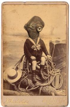 Baby Admiral Ackbar in a vintage pic. I may have laughed for a full 5 minutes! Star Wars Art, Star Trek, Admiral Ackbar, Man Beast, Retro Toys, Geek Out, Vintage Photographs, Nerdy, Illustration Art