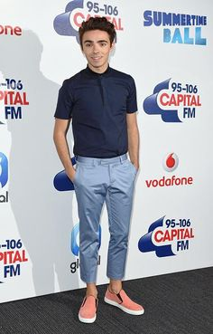 Nathan na sala de imprensa do #CapitalSTB no Wembley Stadium. #CoberturaTWBR