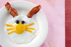 Funny Bunny Eggs Recipe from Kraft Recipes. Fun breakfast for Easter. Kraft Foods, Kraft Recipes, Easter Recipes, Egg Recipes, Holiday Treats, Holiday Recipes, Holiday Foods, Cute Food, Good Food