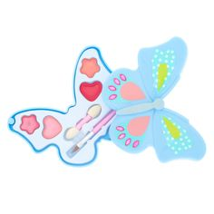 Shop Claire's for the latest trends in jewelry & accessories for girls, teens, & tweens. Find must-have hair accessories, stylish beauty products & more. Butterfly Design, Magical Creatures, Colorful Makeup, Girls Accessories, Tween, Compact, Makeup Looks, Makeup Sets, Fashion Jewelry