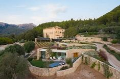 Son Brull Hotel & Spa: Bauernhaus, Kloster, Boutiquehotel Boutique Hotels, Hotel Spa, Pinterest Foto, Hotel Mallorca, Villa, Spain, Wellness, Mansions, House Styles