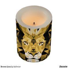 Brown Lion Flameless