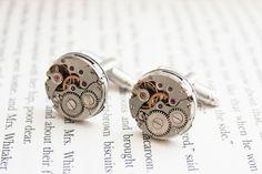 spinki do mankietów z zegarków w Kfiatek zdolne rączki na DaWanda.com #niezchinzpasji