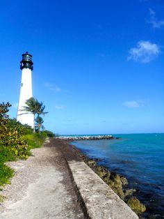 Lighthouse Miami Key Biscayne  #florida