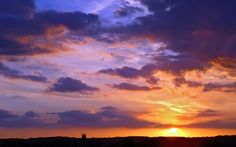 sunset pictures in HD   Big Sky Sunset in Suffolk- HD Sunset Wallpaper