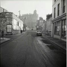 Millbay Road Devon Uk, Abandoned Places, Plymouth, Old Photos, Scotland, Street View, English, War, Black And White