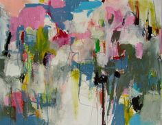 """Saatchi Online Artist: Mary Ann Wakeley; Mixed Media, Painting """"In the Groove"""""""