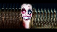 Creepy doll makeup  A new makeup for halloween is online  watch it 👀 like it 👍 subscribe ✌
